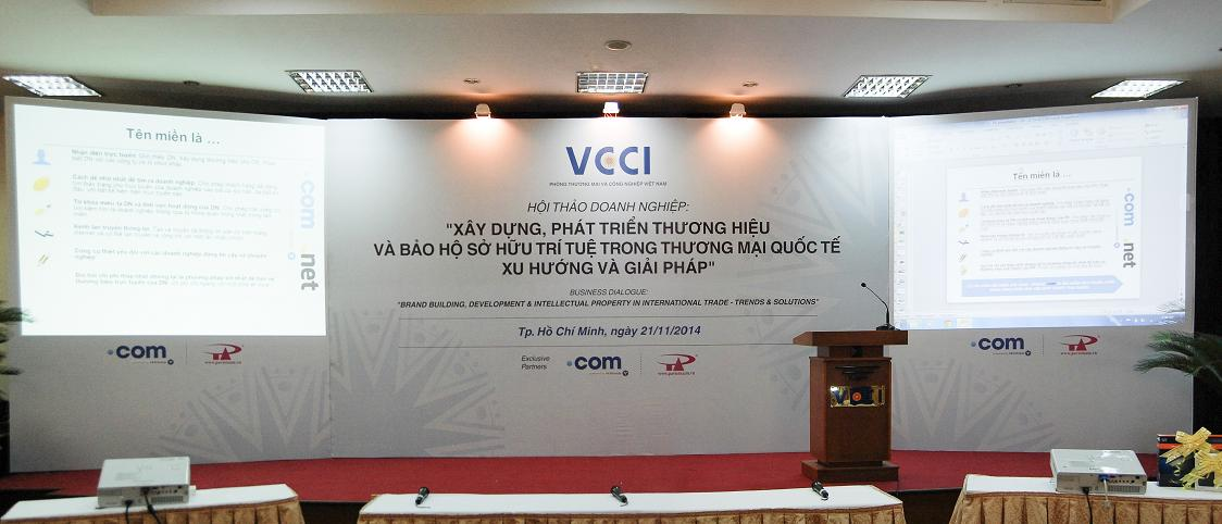 P.A Việt Nam được tập đoàn Verisign giới thiệu là nhà đăng ký tên miền quốc tế chính thức của ICANN thông qua hội thảo do Verisign kết hợp với VCCI tổ chức.